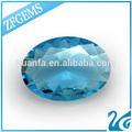 China 9*11mm mejor venta al por mayor venta oval corte de piedras preciosas azul nombres