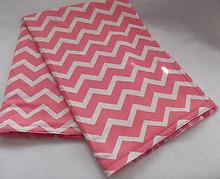 Baby Blanket Pet Blanket Coral Chevron Blanket Handmade NEW