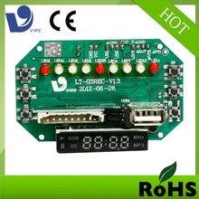 portable mini fm radio voice recordable sound module