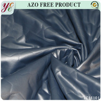 Fake brand dress fabric pu artificial leather
