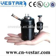 mini R134a compressor for wine refrigerator DC 12v compressor