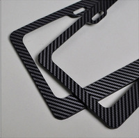 carbon fiber parts of carbon fiber license plate frame