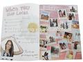 print catalogue with customer design