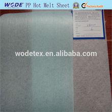 thermal glue sheets,ping pong hot melt sheet,hot melt glue sheet