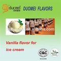 Essência de baunilha para sorvete, sabores de sorvete