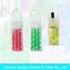 Plastic Wine Cooler Bag Wine Bottle Bag