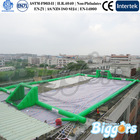 China Inflatable Football Pitch Inflatable Soap Soccer Field