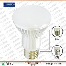 High brightness Low power consumption E27 E26 B22 7W LED bulb with SAA CE UL RoHS CB FCC