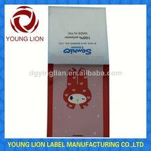 product description label