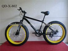 china new desigh 26 inch fat tire mountain bike/ fat tire bike