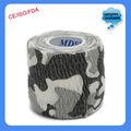 camuflagem do exército e máquina bandagem elástica coesa