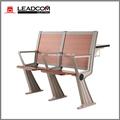 Leadcom respaldo de madera de conferencia plegable silla de la escuela de escritorio ls-928mf