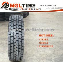 Good wear resistance ability 12r 22.5 tire