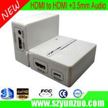 New Premium HD HDMI to HDMI + SPDIF + RCA L / R Audio Extractor   Converter 2014