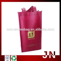 PP Non Woven Wine Bottle Bags, Non Woven Wine Bottle Tote Bag