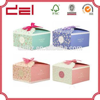 customized paper cupcake box