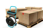 Wholesale and Retail Strapping Dispenser Trolley for Cardboard Core