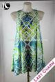pasado el encanto de la moda las mujeres casual vestido vestido tradicional tailandés