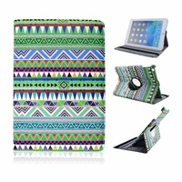 Fashion Aztec PU Leather Stand Tablet Cover Case for ipad Mini
