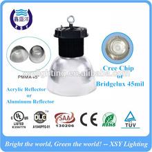 DLC cUL Approval 45 Deg Clear Acrylic Cone High Bay Light LED 120W