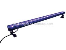 2014 new inventions in china18x 3 watt Wall Washer Bar Lighting UV LED Bar