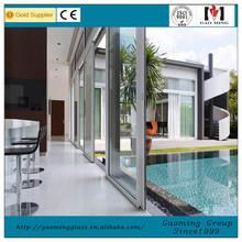 Aluminum/PVC/UPVC double glazing glass door