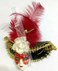 Fashion Cute Christmas Personalized Feather Small Toy ornaments,Plush Christmas Tree ornament,indoor outdoor decoration