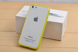 New Style Crystal Clear TPU Silicone Soft Cover Case for Apple iPhone 5 5g 5S