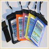 Smart pvc waterproof bag for mobile phone with arm belt bag