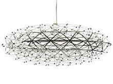 Handmade Stainless steel knit nest hanging lamp - Cuckoo's Nest Series