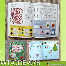 WT-CDB-978 kids preschool activity books