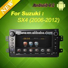 Android 4.2 Car DVD GPS Navigation for Suzuki SX4 2006-2012