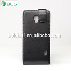 High quality leather cover new case for lg optimus f6