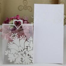 cute and fancy design hot sale creative invitation card