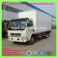 Dongfeng 6-8t especial usado van caminhão, aberto asa van caminhão, cozinha móveis caminhão no quênia