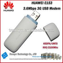 Original Unlock HSDPA 3.6Mbps HUAWEI E153 Download 7.2Mbps 3G HSDPA USB Modem