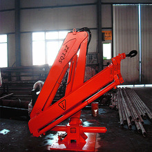 3 Ton China Hydraulic Mobile Small Mini Used/New Knuckle/Telescopic Boom Lorry Truck Mounted Timber Crane Manufacture SQ3.2ZA2