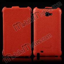 K-Coool Flip Case for Samsung Galaxy Note N7000, Real Genuine Leather Case for Samsung Galaxy Note i9220