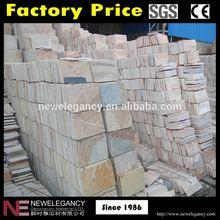 China manufacture lowest price interlocking quartzite