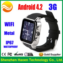 Smart Watch Phone with Android Smart watch GPS 5Mega Camera Silicon Band Android Waterproof Watch