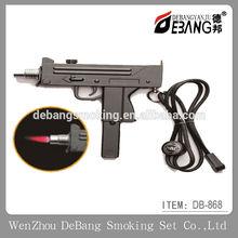 New Pocket Windproof Lighter Spray Gun Jet Flame Butane Cigarette Smoking Lighter