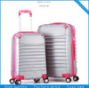 hot sale abs luggage,abs pc luggage,silver color luggage case
