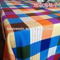 Super qualité populaires eco- amicalequalité maison en toile brodée en organza nappe rectangle