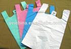 PE T-shirt plastic shopping bag