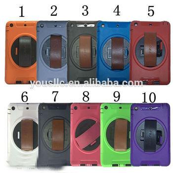 360 rotation holder stand hard case for ipad mini 2 1