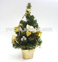 40cm mini christmas tree gold christmas tree mini artificial plants