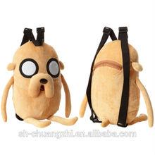 Jake The Dog Backpack joker plush backpack for kids gifts