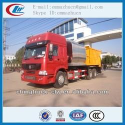 Famous brand Sinotuck HOWO asphalt penetration macadam chip sealer
