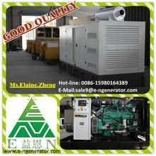 Factory price,360kw open frame diesel generator silent type option