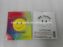 mr.happy herbal incense potpourri bags wholesale /fairly legal herbal incense potpourri bag